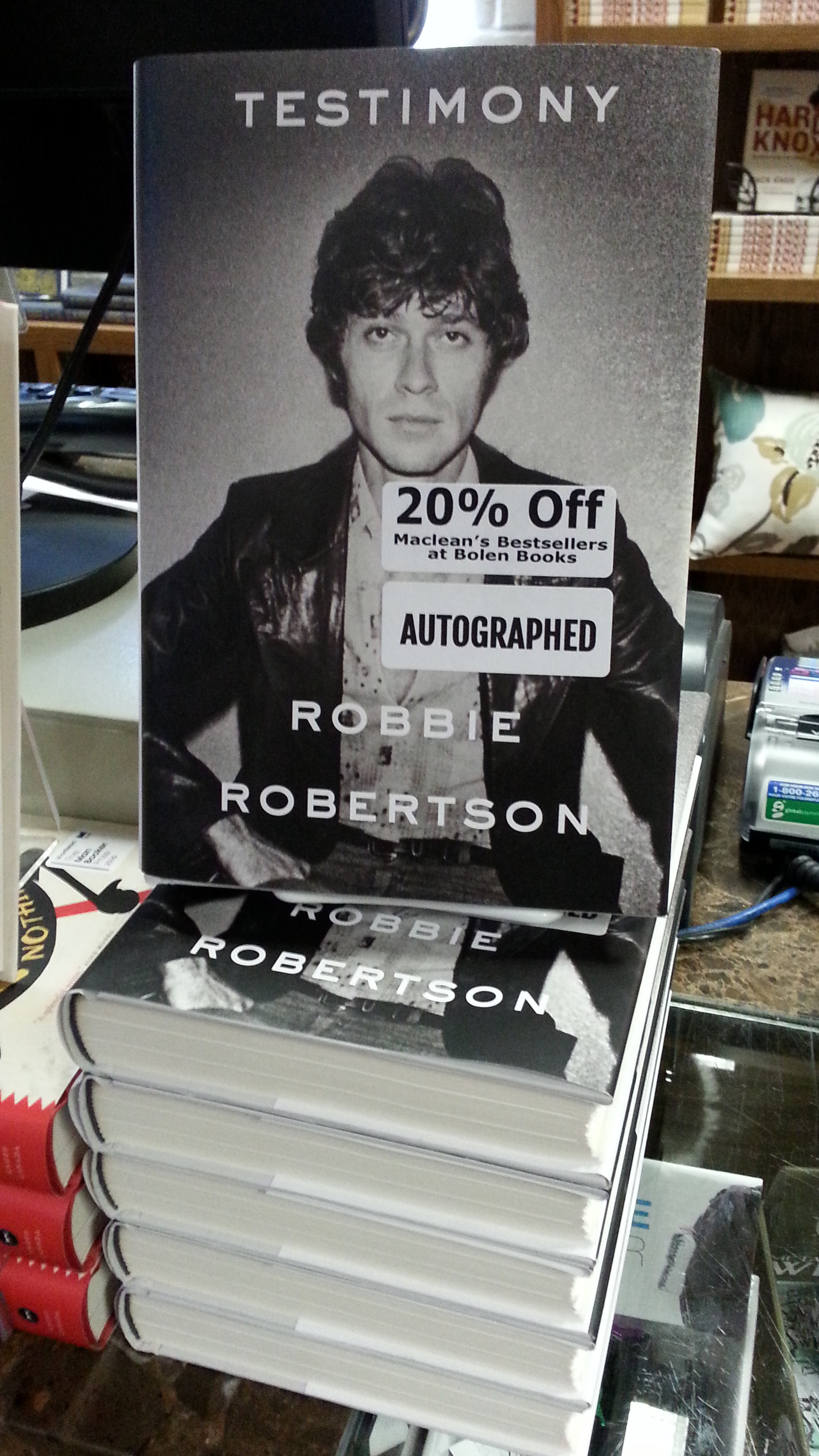 "Robbie Robertson's ""Testimony"""